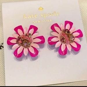 Kate Spade! Flower Stud Earrings